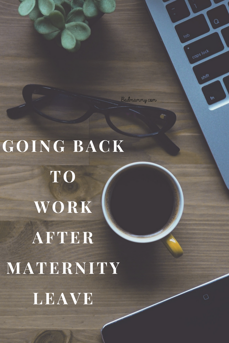 Final Days Of Maternity Leave Before Going Back To Work