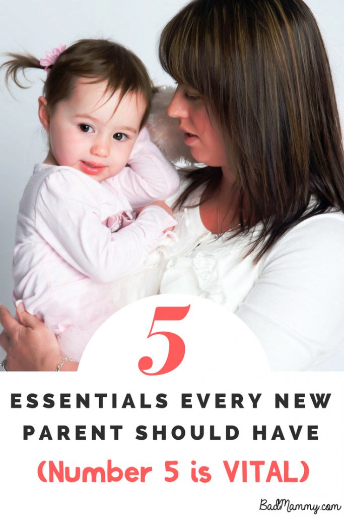 5 essentials for new parents