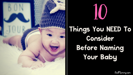 10 questions baby name