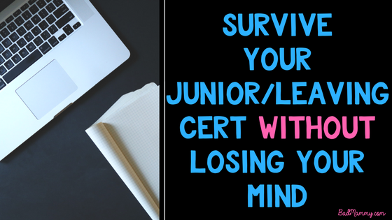How to survive your junior leaving cert exams