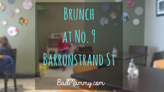 Brunch at No. 9 Barronstrand St - Waterford City, Ireland. BadMammy.com