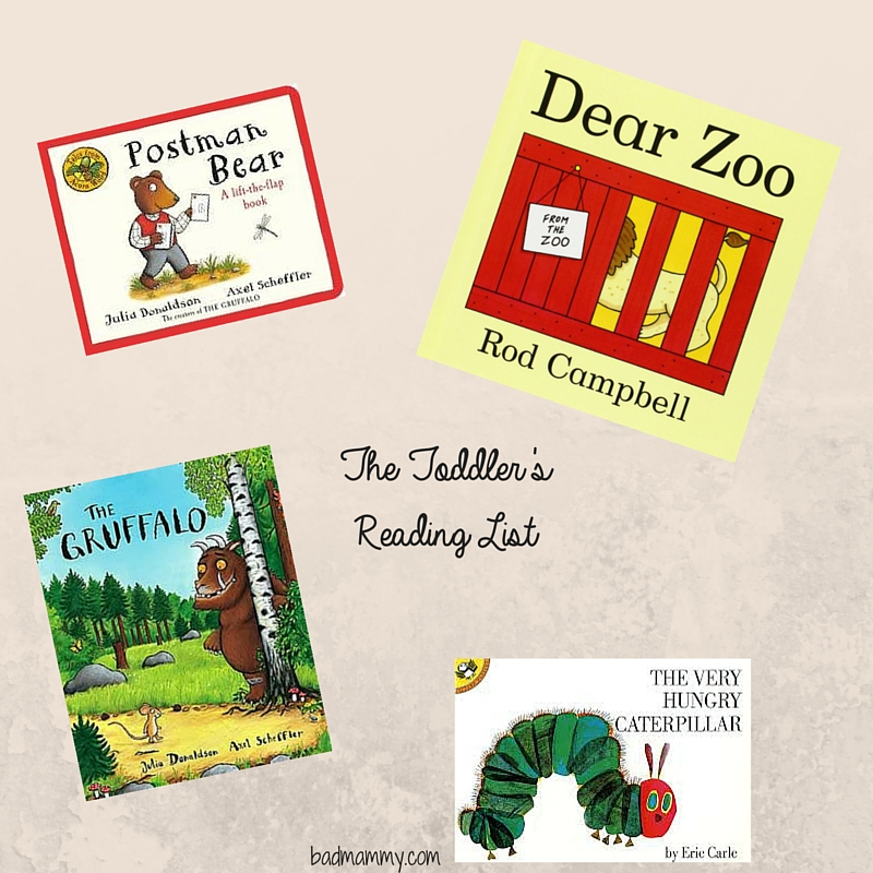 The Toddler's Reading List
