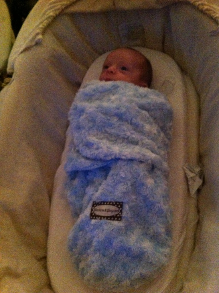 Baby in Swaddle - Best Baby Products Essentials - BadMammy.com