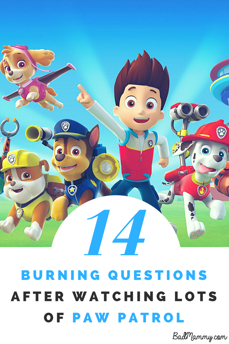 14 Questions About Paw Patrol Every Parent Has