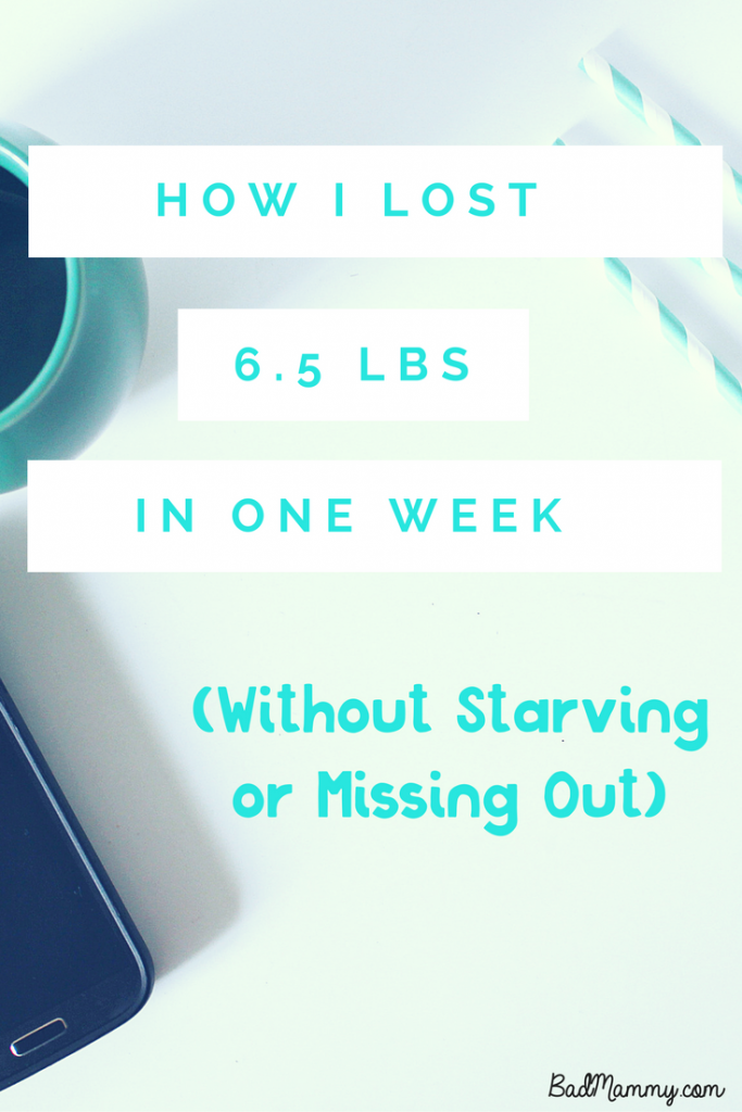 How I Lost 6.5lb in one week Slimming World - BadMammy.com