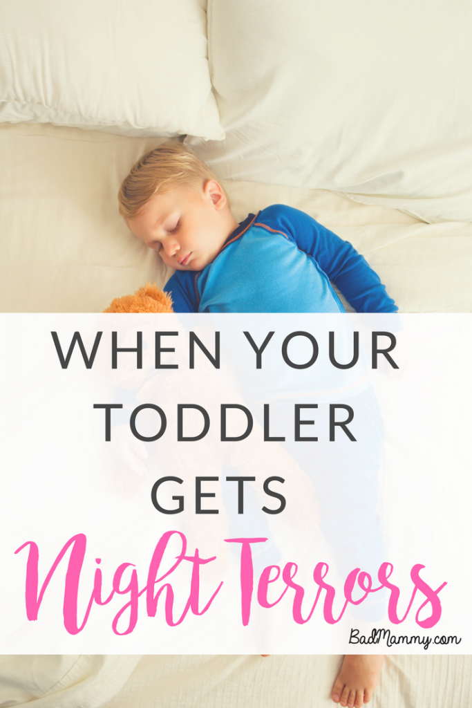 When Your Toddler Gets Night Terrors