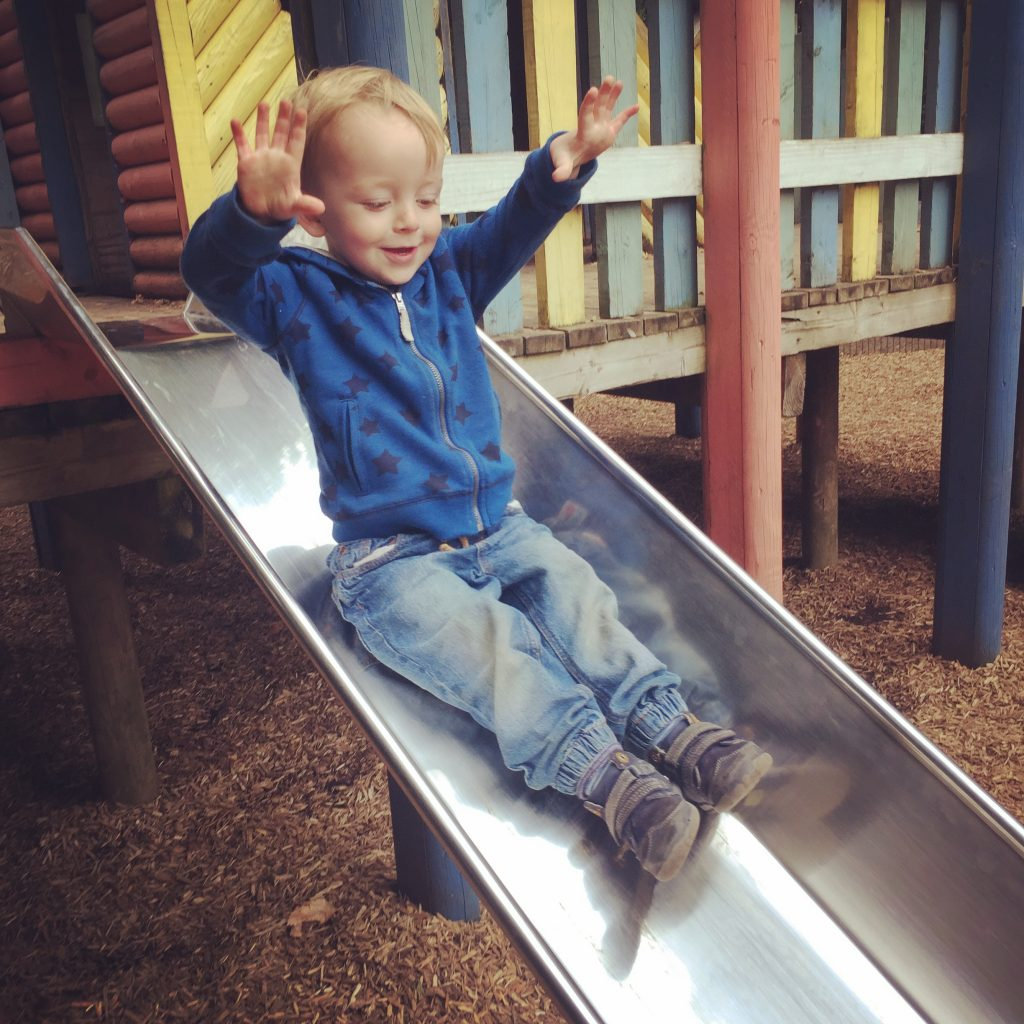 Slide at Playground in Fota Wildlife Park - BadMammy.com