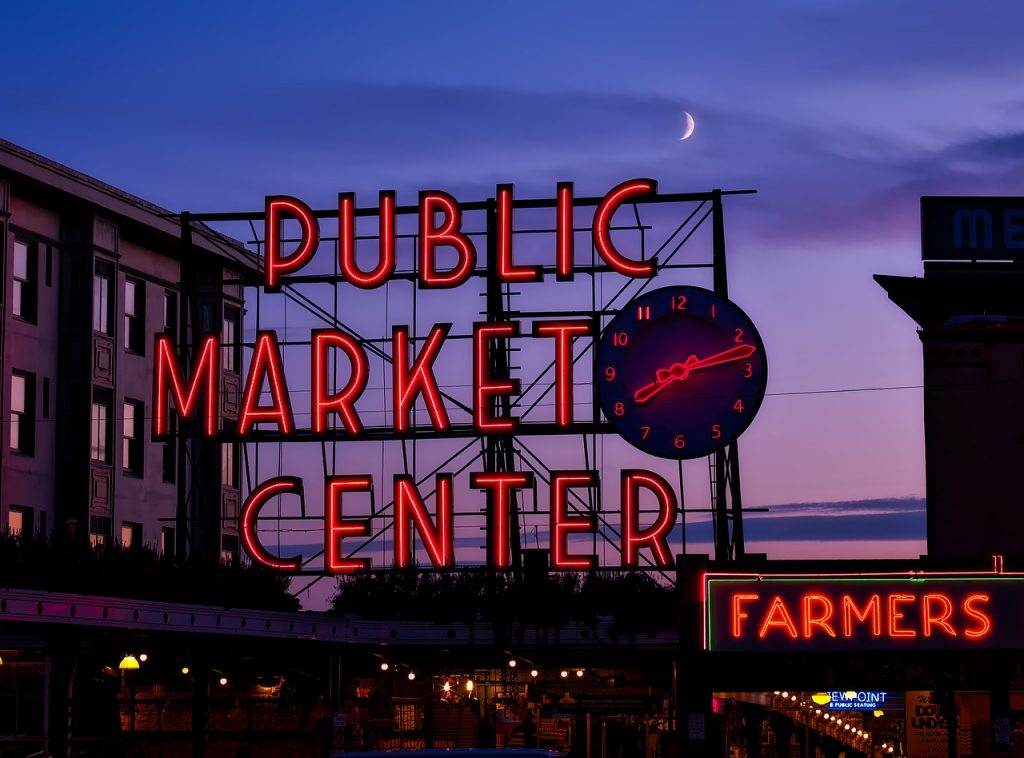 Pike Place Market, Seattle - See Seattle on a Budget - Save Money During Your Trip - BadMammy.com