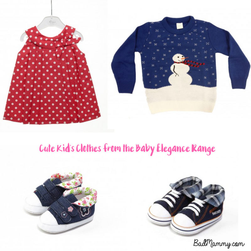Cute Kids Clothes from the Baby Elegance range - Badmammy.com