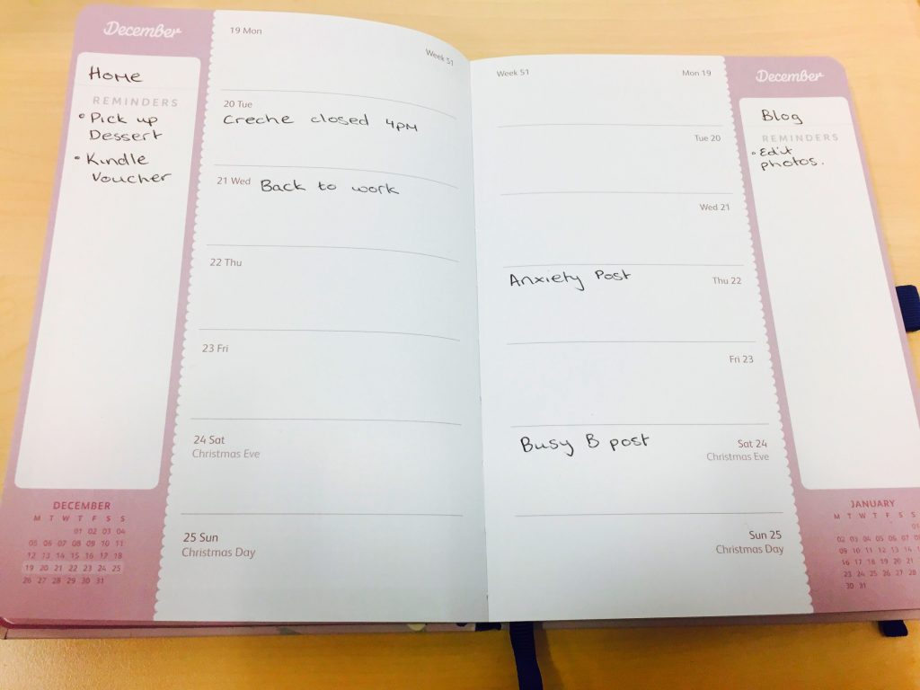 Busy B Busy Life Diary Review and Giveaway - BadMammy.com