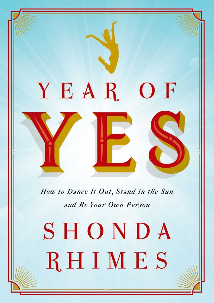 Year of Yes - 5 Self Help Books for New Year, New Me - BadMammy.com