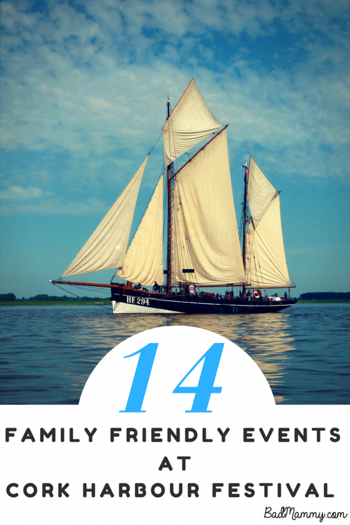 14 Family Friendly Events This June Bank Holiday Weekend at Cork Harbour Festival.