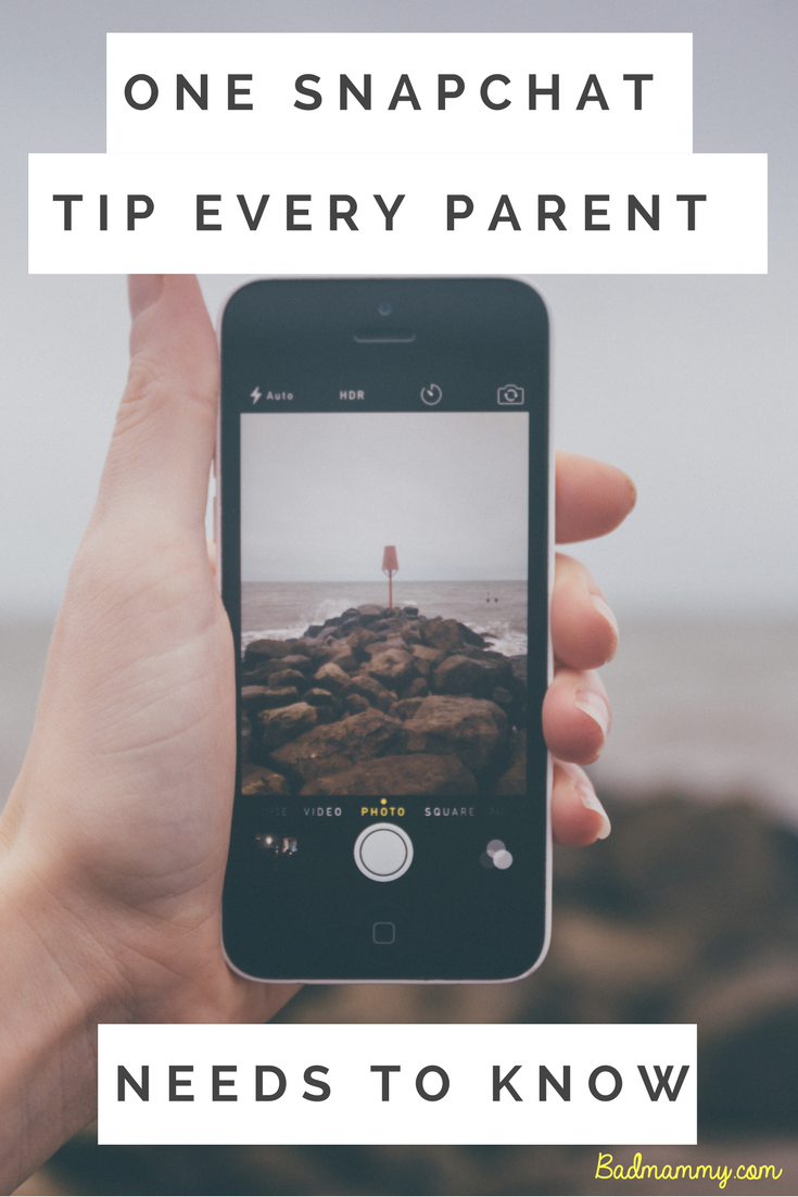1 Tip Every Parent Needs To Know If Their Kids Use Snapchat
