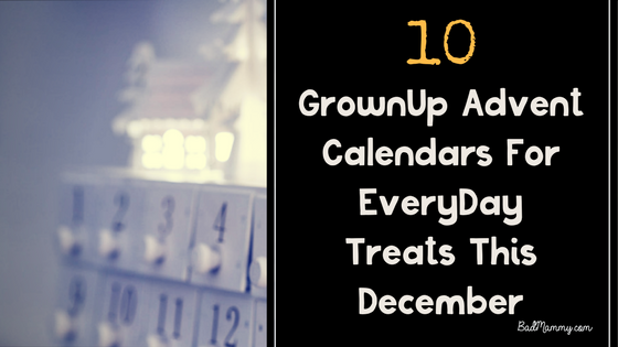 10 GrownUp Advent Calendars You'll Love This December