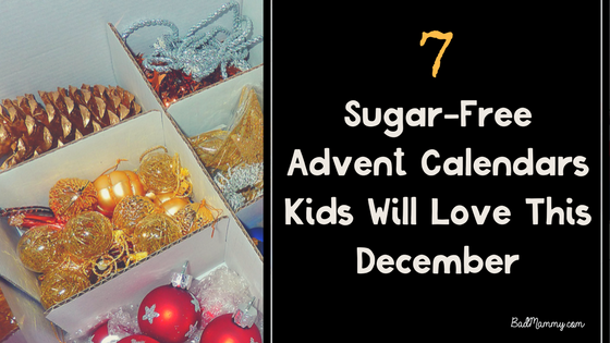 Sugar-Free Advent Calendars Kids Will Love This December