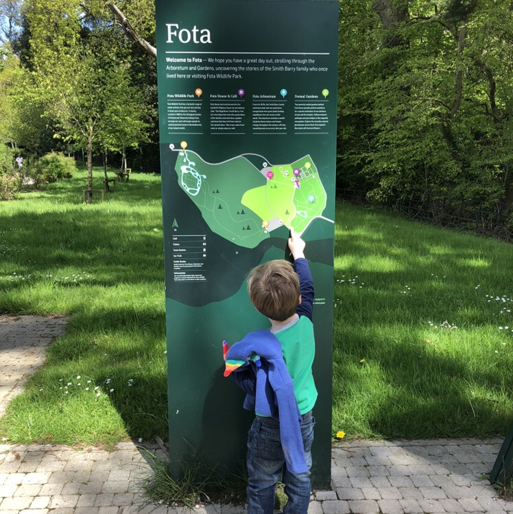 Fota House And Gardens Sign - BadMammy.com