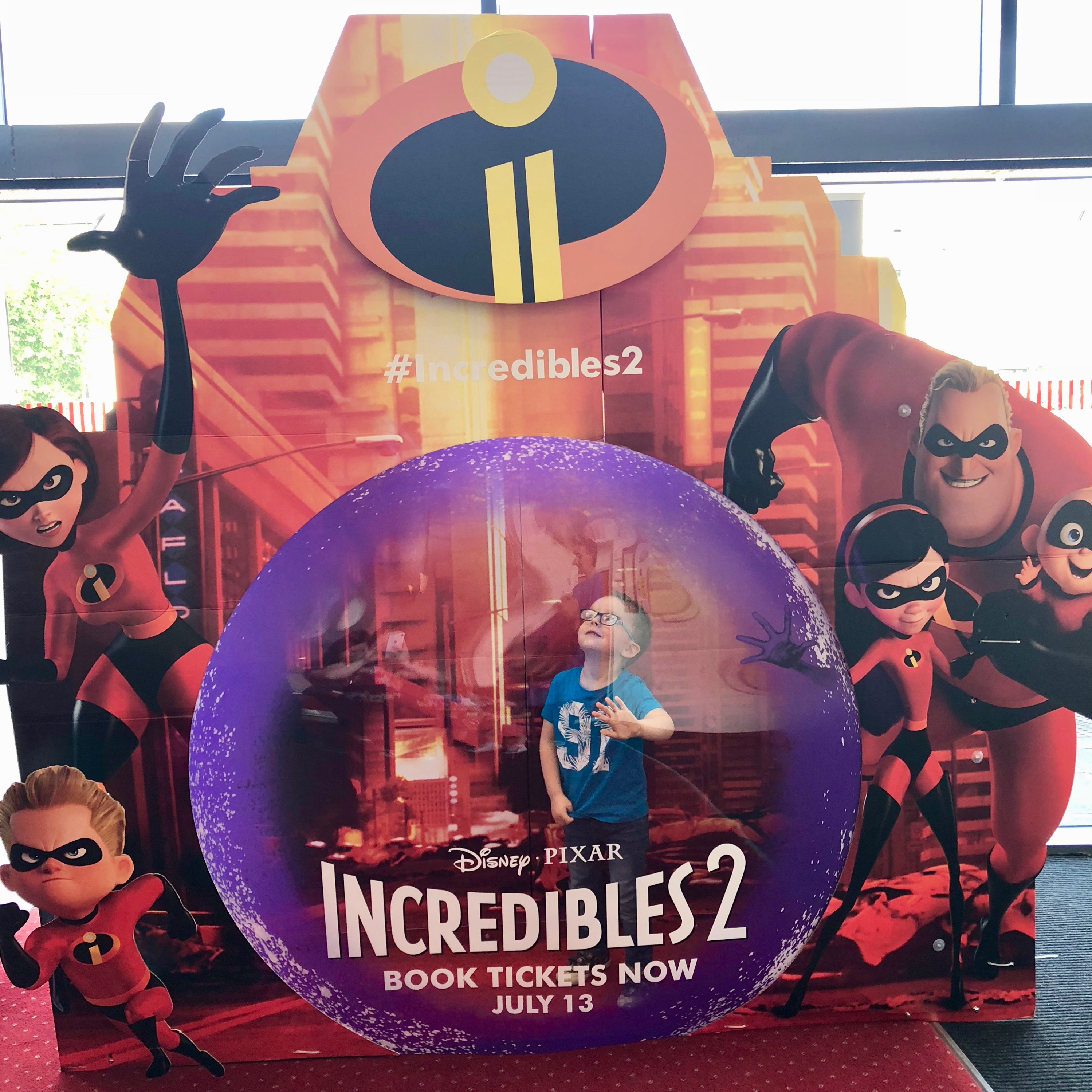 Incredibles 2 Vodafone Family Firsts - BadMammy.com 2018