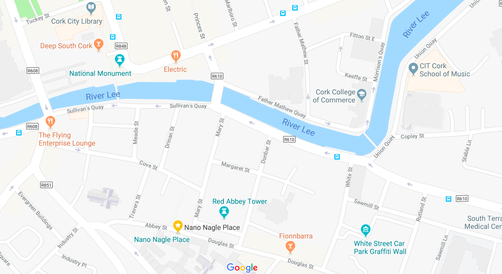map Nano Nagle Place