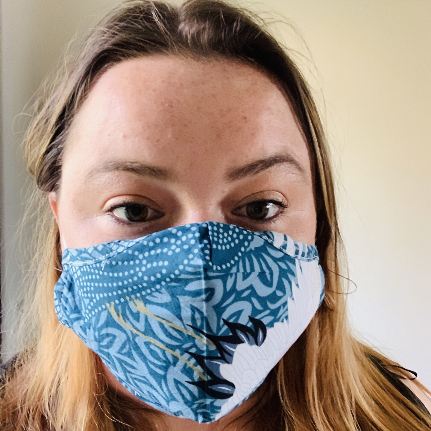 wear a mask during quarantine